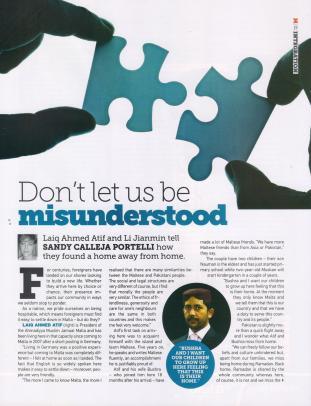 Laiq Ahmed Atif's interview in 'M' Magzine