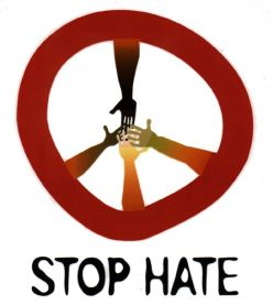 Hate is poison!