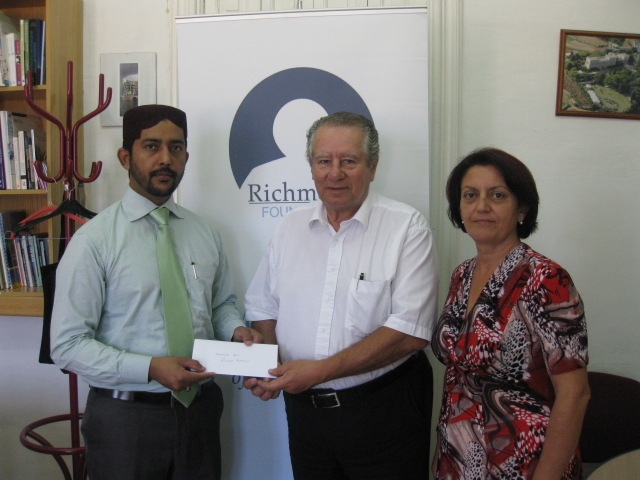 Ahmadiyya Helps Richmond Foundation
