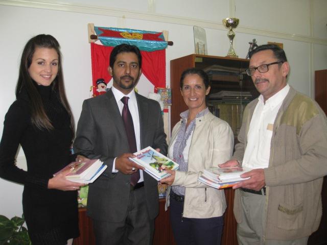 Books Donation to Msida Primary by Ahmadiyya