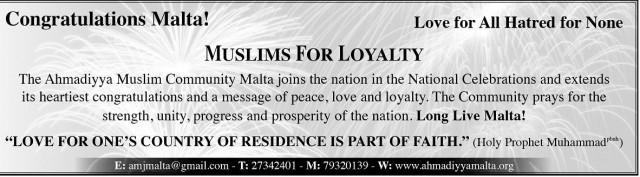 Congratulations Malta