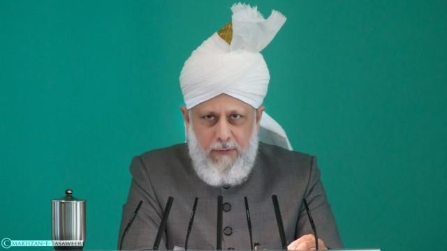 Hazrat Mirza Masroor Ahmad - worldwide leader of Ahmadiyya Muslim Community