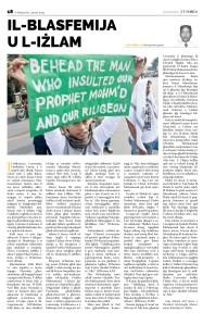 Il-Blasfemija u l-Izlam