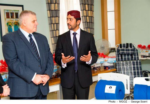 Ahmadiyya donates in Gozo-01