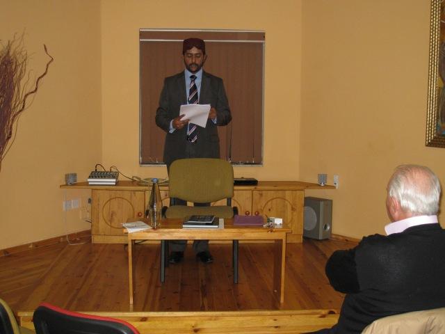 Talk at Millennium Chapel (2)