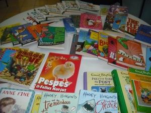 Books donation to Msida Primary